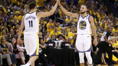 Photo of Curry, Klay take part in Oakland protest as NBA gets season restart date