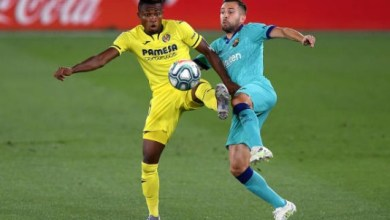 Photo of VIDEO: Chukwueze's defence splitting pass for Villarreal's goal against Barcelona