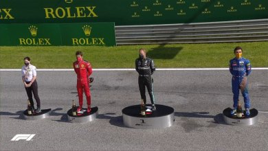 Photo of Bottas wins Austrian Grand Prix as 6 drivers refuse to take a knee