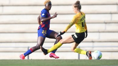 Photo of VIDEO: Watch as Oshoala scores two in Barcelona 3-0 win against Montpellier