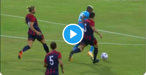 Video Osimhen S 8 Min Hat Trick Two Assists In Napoli Pre Season Friendly Win Against L Aquila