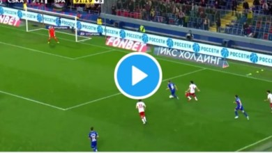 Photo of VIDEO: Watch as Chidera Ejuke opens goal account in CSKA 'main Moscow derby' win