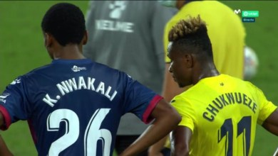 Photo of Samuel Chukwueze and Kelechi Nwakali united in Spain in Villarreal-Huesca clash
