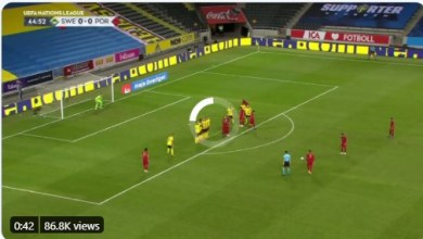 Photo of VIDEO: Watch as Ronaldo marks 100th international goal with a powerful free-kick