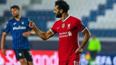 Photo of Salah joins Gerrard as Liverpool's top scorer in Champions League