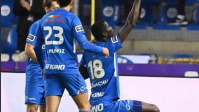 Photo of Paul Onuachu hits goal no 23 in Genk's 3-1 loss to Oostende