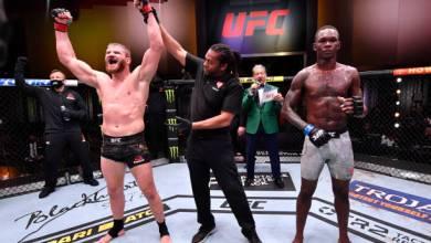 Photo of Adesanya falls to unanimous decision defeat at UFC 259