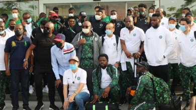 Photo of Super Eagles met with hostility in Porto Novo