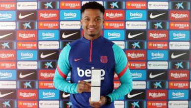 Photo of Barcelona starlet, Fati awarded as NxGn World's best player