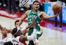 Photo of Antetokoumpo leads Bucks to back-to-back wins over Nets in NBA