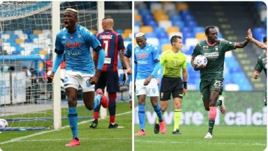 Photo of Simy's brace not enough as Osimhen's goal helps Napoli in 7-goal thriller win