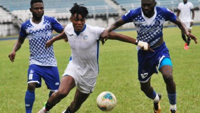 Photo of Adetunji the match winner as Rivers United strike late to defeat Enyimba