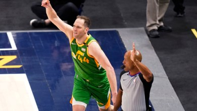 Photo of Bogdanovic makes Jazz history in statement win over Nuggets
