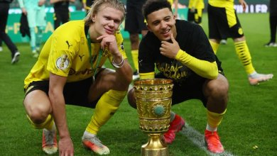 Photo of Haaland, Sancho fire Borussia Dortmund to DFB Pokal glory