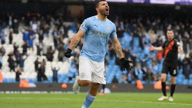 Photo of Aguero ends Manchester City Premier League career on a high with brilliant brace on last appearance