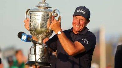 Photo of Phil Mickelson beats Julius Boros record with US PGA Championship win