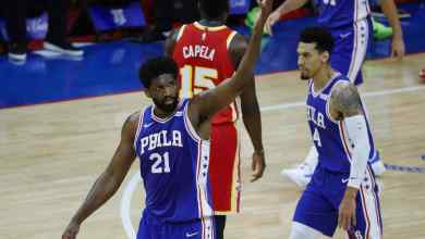 Photo of Embiid powers 76ers to win against Atlanta Hawks to tie Conference semifinals at 1-1