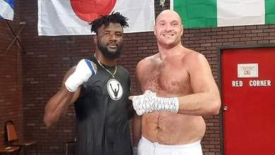 Photo of Nigerian Heavyweight Ajagba set to face biggest test of career in Wilder-Fury trilogy fight