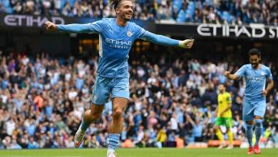 Photo of Grealish opens Manchester City account in Norwich thrashing