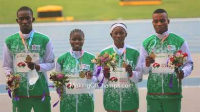 Photo of Team Nigeria hits gold in World U-20 Championship