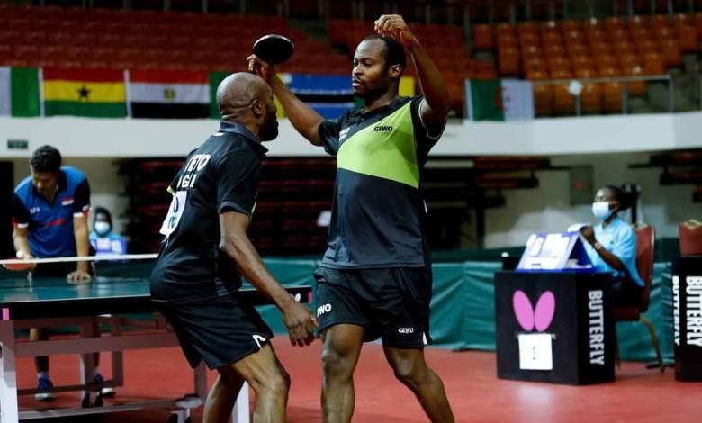 ทีมไนจีเรียหลังจาก ITTF ชนะ