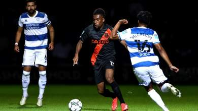 Photo of Iwobi's Everton sent packing from Carabao Cup by QPR