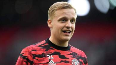 Photo of Donny Van de Beek; Ballon d'Or nominee to Manchester United outcast