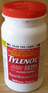 Acute neck pain and Tylenol