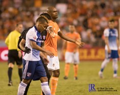 During a match between the Houston Dynamo vs Dallas FC,June 23,2017 Houston Tx.