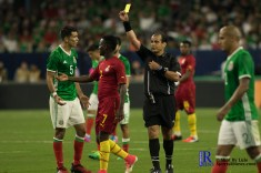 During a match between Mexico National Team and Ghana National Team at NRG Stadium ,June 28,2017 Houston Tx.