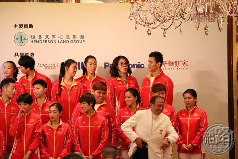 022-20160828Mainland Olympic gold medalists Delegation Dinner