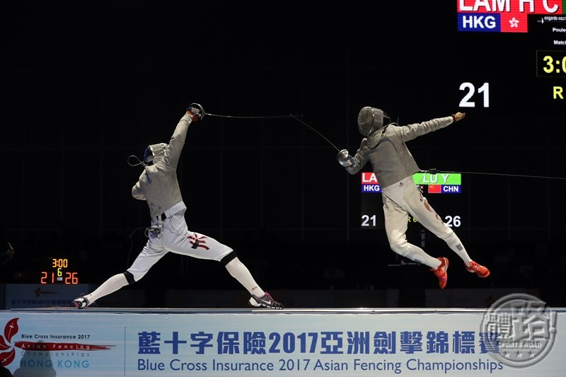 AFC2017_Fencing_MEN'S SABRE TEAM_BRONZE_A86I8309