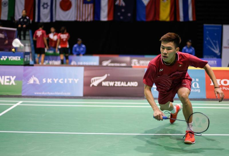圖片來源:New Zealand Badminton Open FB