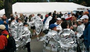 Marathon medical tent. Photo by Flickr user Ben Lawson