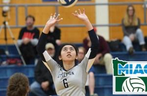Lauren Pak Carleton College Volleyball