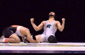 De La Salle's Senior Wrestler Captures First Gold at CIF State Wrestling Championship