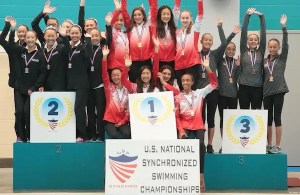Walnut Creek Aquanuts Take Silver in National Competition
