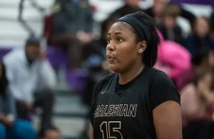 Angel Jackson, Salesian Girls Basketball