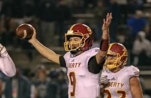 Jay Butterfield, Liberty football