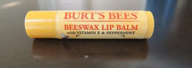 I personally use Burt's Bees Beeswax Lip Balm because it is a classic and comes in various flavors