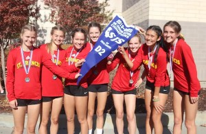 The St. Francis Catholic - Sacramento cross country team won its fourth consecutive Sac-Joaquin Section Division II title and qualified for the CIF State Cross Country Championships