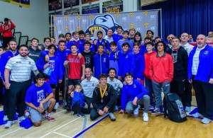 The California Wrestler Final State Rankings. BUCHANAN HIGH SCHOOL is #1