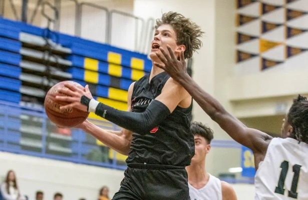 Boys Basketball Fan Vote, Aidan Mahaney, Campolindo