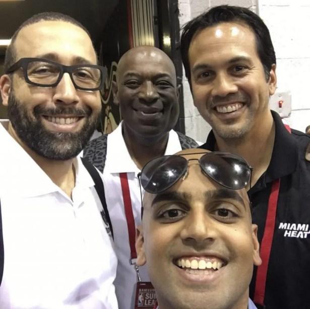 Richard Fernando, Basketball, Miami Heat
