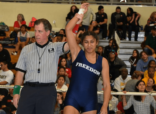 Dalia Garibay, Freedom wrestling