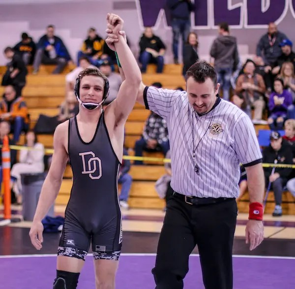 Noah Blake, Del Oro wrestling