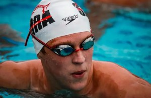 SportStar Ben Dillard, Senior Swimmer from Oak Ridge-El Dorado Hills