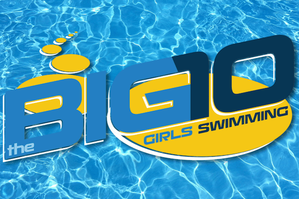 Girls Swimming Big 10