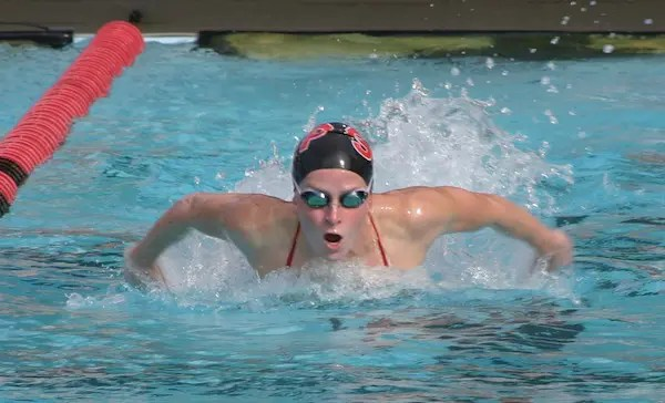 Ally Howe, Sacred Heart Prep, Girls Swimming Big 10