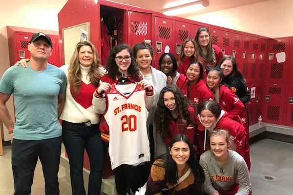 Hannah Malek, St. Francis, Basketball